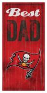 Tampa Bay Buccaneers Best Dad Sign