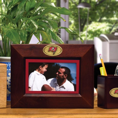 Tampa Bay Buccaneers Brown Landscape Picture Frame