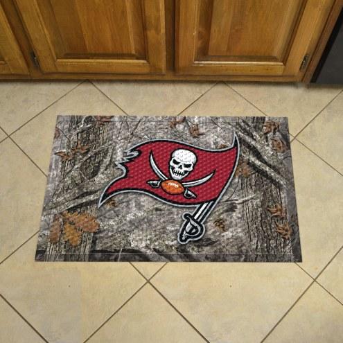 Tampa Bay Buccaneers Camo Scraper Door Mat