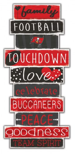 Tampa Bay Buccaneers Celebrations Stack Sign