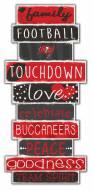 Tampa Bay Buccaneers Celebrations Stack Sign