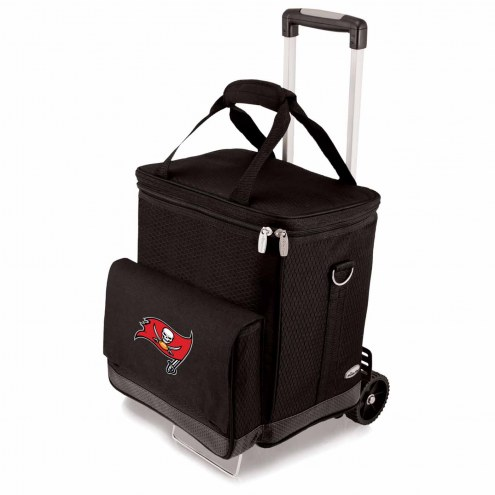 Tampa Bay Buccaneers Cellar Cooler with Trolley