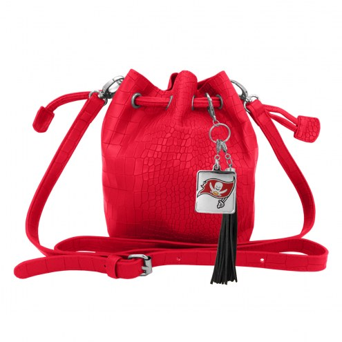 Tampa Bay Buccaneers Charming Mini Bucket Bag