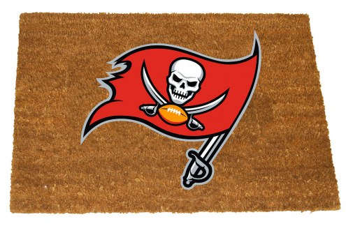 Tampa Bay Buccaneers Colored Logo Door Mat