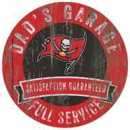 Tampa Bay Buccaneers Dad's Garage Sign