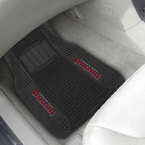 Tampa Bay Buccaneers Deluxe Car Floor Mat Set