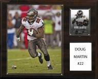 """Tampa Bay Buccaneers Doug Martin 12"""" x 15"""" Player Plaque"""