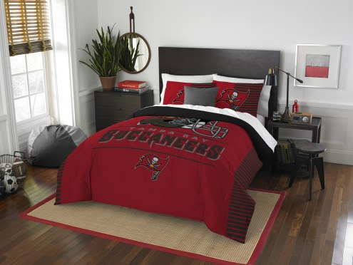 Tampa Bay Buccaneers Draft Full/Queen Comforter Set