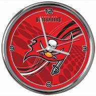 Tampa Bay Buccaneers Dynamic Chrome Clock