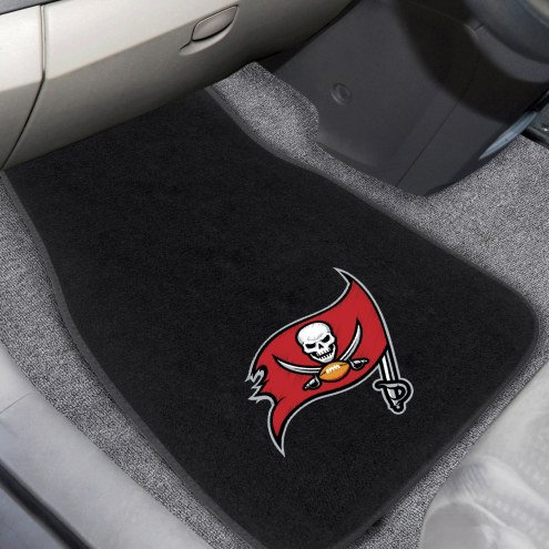 Tampa Bay Buccaneers Embroidered Car Mats