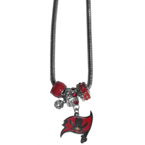 Tampa Bay Buccaneers Euro Bead Necklace