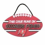 Tampa Bay Buccaneers Football Power Wood Sign