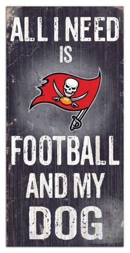 Tampa Bay Buccaneers Football & My Dog Sign