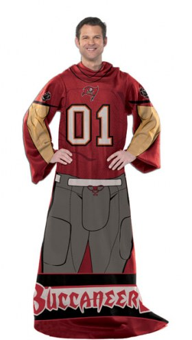 Tampa Bay Buccaneers Full Body Comfy Throw Blanket