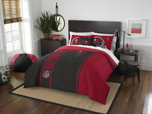 Tampa Bay Buccaneers Full Comforter & Sham Set