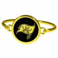 Tampa Bay Buccaneers Gold Tone Bangle Bracelet