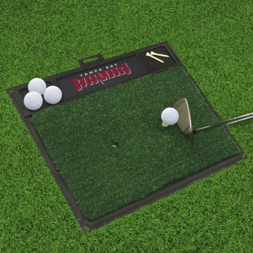 Tampa Bay Buccaneers Golf Hitting Mat