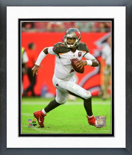 Tampa Bay Buccaneers Jameis Winston Action Framed Photo