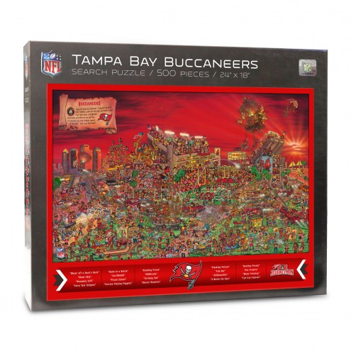 Tampa Bay Buccaneers Joe Journeyman Puzzle