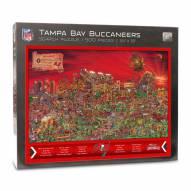Tampa Bay Buccaneers Joe Journeyman Puzzle