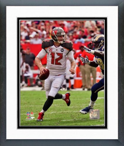 Tampa Bay Buccaneers Josh McCown Action Framed Photo