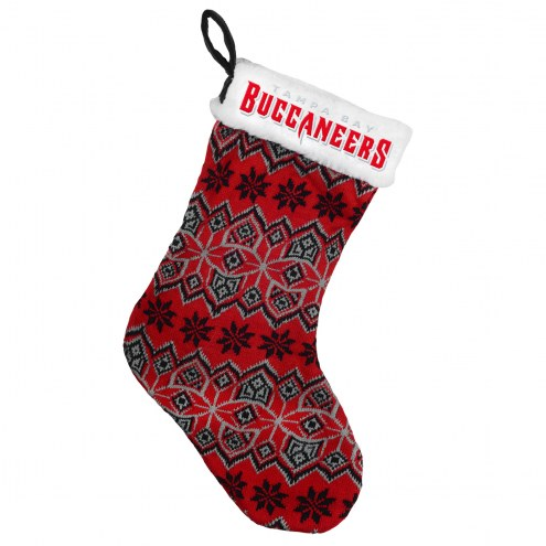 Tampa Bay Buccaneers Knit Christmas Stocking