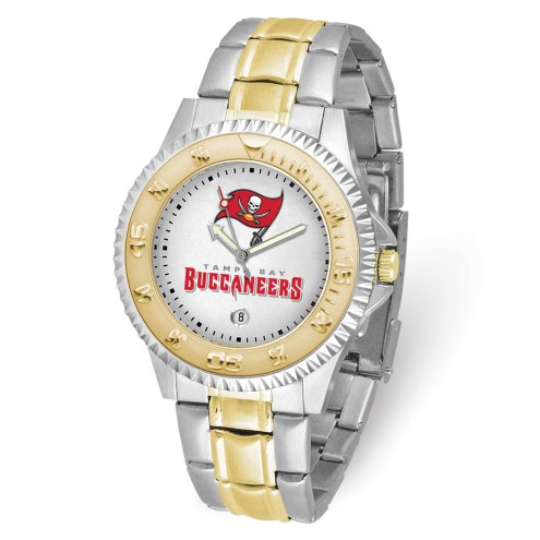 Tampa Bay Buccaneers Competitor Two-Tone Men's Watch