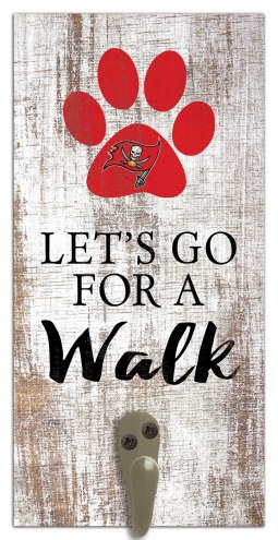 Tampa Bay Buccaneers Leash Holder Sign