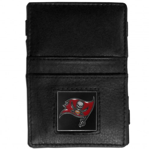 Tampa Bay Buccaneers Leather Jacob's Ladder Wallet
