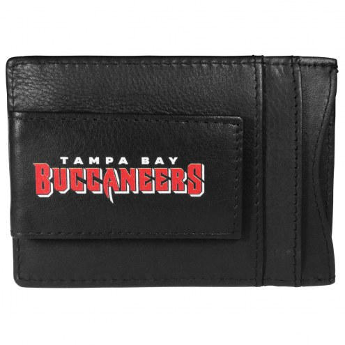 Tampa Bay Buccaneers Logo Leather Cash and Cardholder