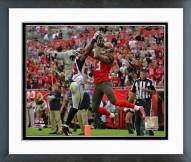 Tampa Bay Buccaneers Mike Evans Action Framed Photo