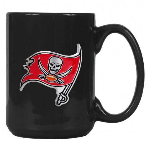 Tampa Bay Buccaneers NFL 2-Piece Ceramic Coffee Mug Set