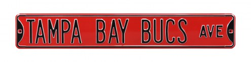 Tampa Bay Buccaneers NFL Authentic Street Sign