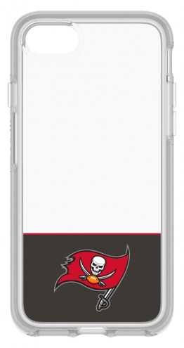 Tampa Bay Buccaneers OtterBox iPhone 8/7 Symmetry Clear Case