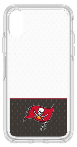 Tampa Bay Buccaneers OtterBox iPhone X Symmetry Clear Case