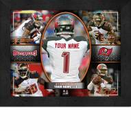 Tampa Bay Buccaneers Personalized 11 x 14 Framed Action Collage