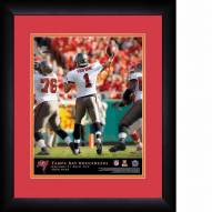 Tampa Bay Buccaneers Personalized 13 x 16 NFL Action QB Framed Print