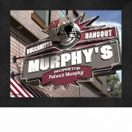 Tampa Bay Buccaneers 11 x 14 Personalized Framed Sports Pub Print