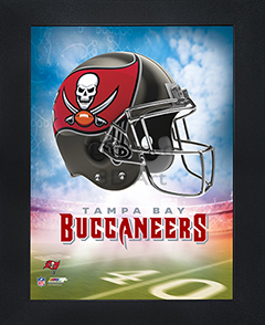 Tampa Bay Buccaneers Framed 3D Wall Art