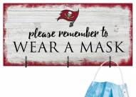 Tampa Bay Buccaneers Please Wear Your Mask Sign