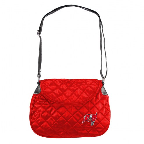 Tampa Bay Buccaneers Quilted Saddle Bag