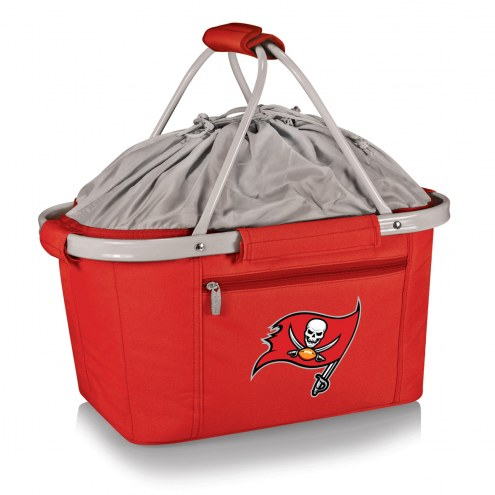Tampa Bay Buccaneers Red Metro Picnic Basket