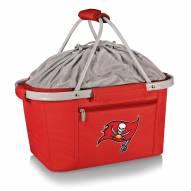 Tampa Bay Buccaneers Red Metro Picnic Basket