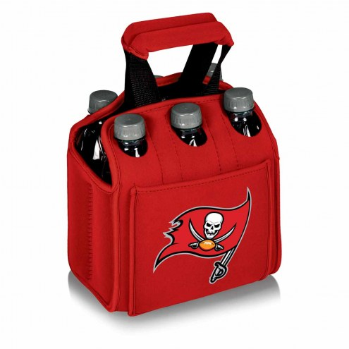 Tampa Bay Buccaneers Red Six Pack Cooler Tote