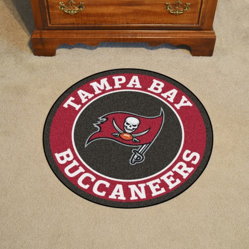 Tampa Bay Buccaneers Rounded Mat