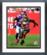 Tampa Bay Buccaneers Russell Shepard Action Framed Photo