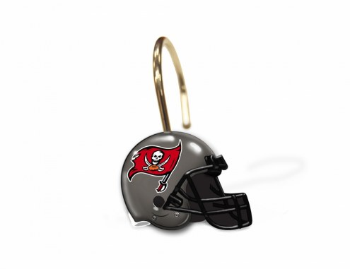 Tampa Bay Buccaneers Shower Curtain Rings