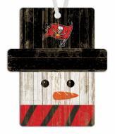 Tampa Bay Buccaneers Snowman Ornament