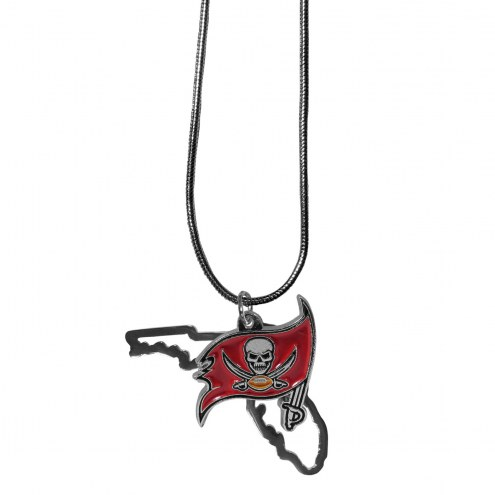 Tampa Bay Buccaneers State Charm Necklace