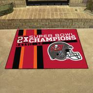 Tampa Bay Buccaneers Super Bowl LV Champions Dynasty All-Star Rug